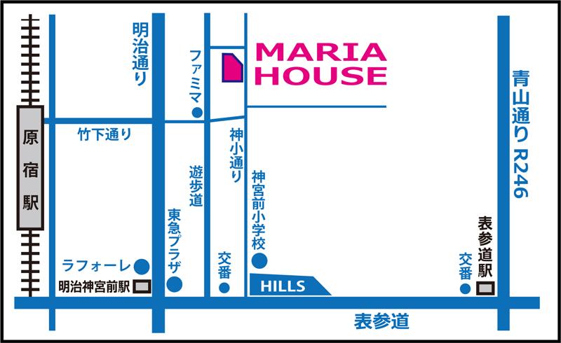 マリアズクローゼットmap